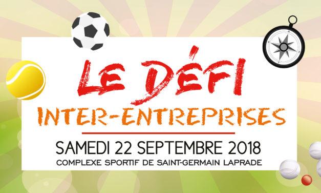 Le défi inter-entreprises 2018 de l'agglomération du Puy-en-Velay